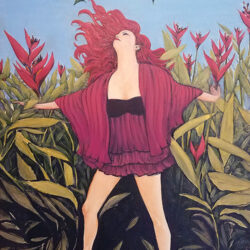 Oil on Canvas 24x36 $ For more information: 340-777-3060 mangotango3000@gmail.com